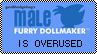 Male Dollmaker Stamp