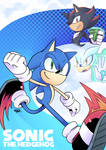 just another sonic drawing by ZlynxDigital