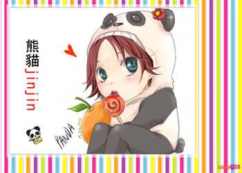 panda jinjin by QiChen