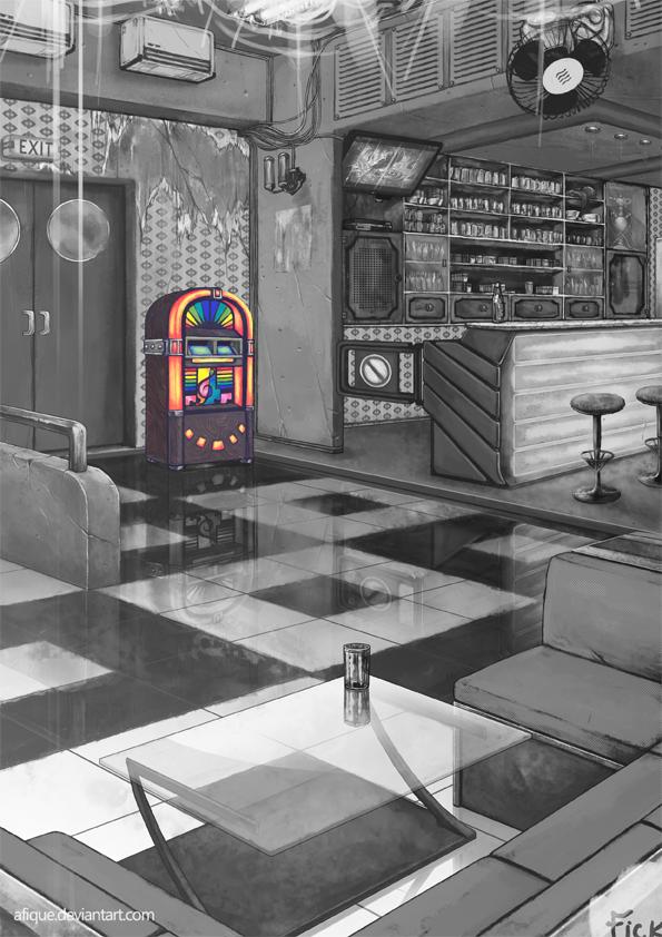 Cafe of Broken Dreams by afique