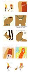 SAMSON, On Dogs by atofu