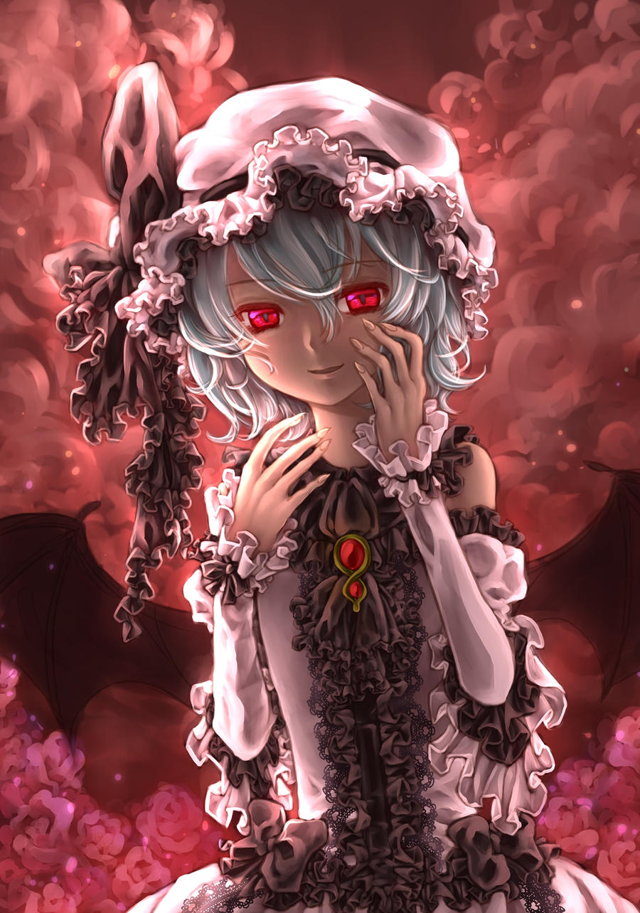 Remilia Scarlet  :touhou by isizaki0204