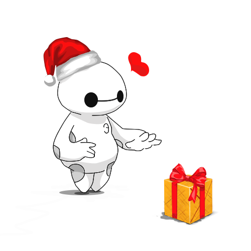 Merry Christmas Baymax! by Pradyrk on DeviantArt