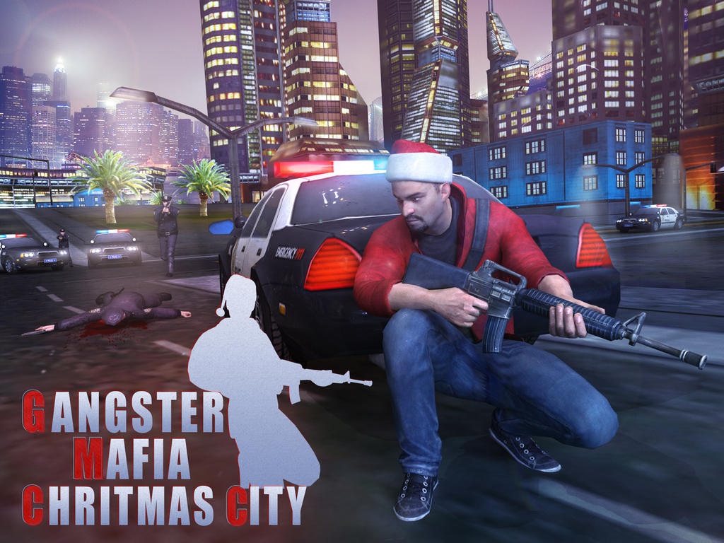 ganster mafia christmas city by 3menstudio - Christmas City Studios