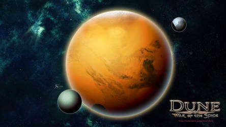 Planet Arrakis by gntlemanartist
