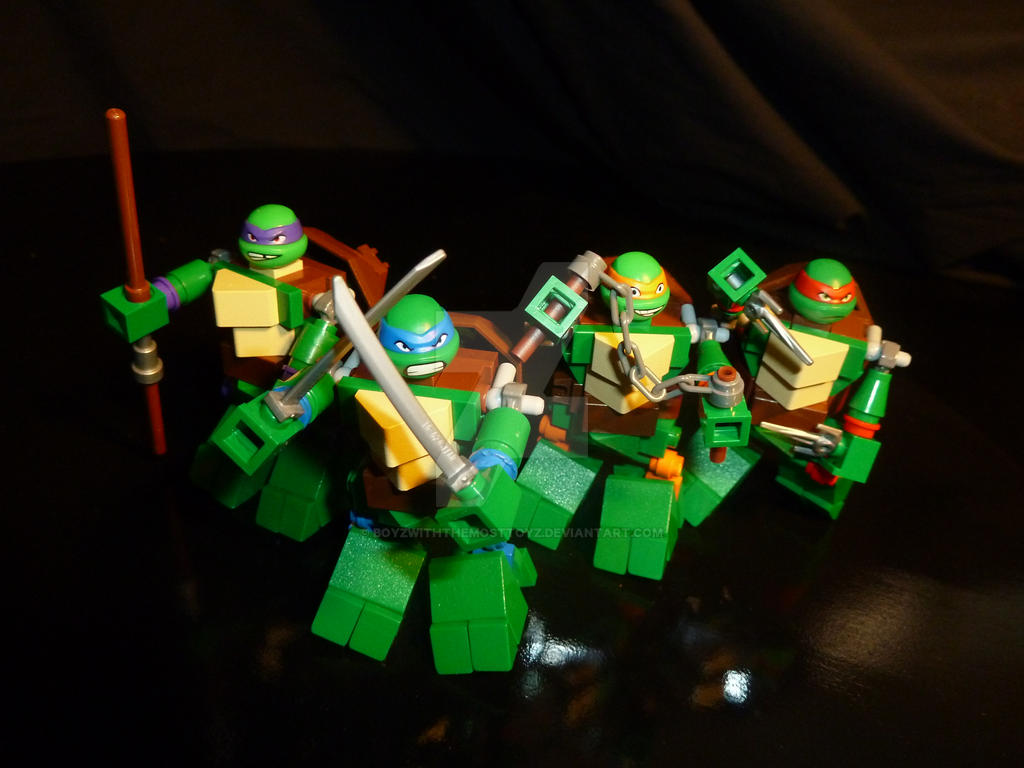 lego ninja turtles 2017 - photo #24