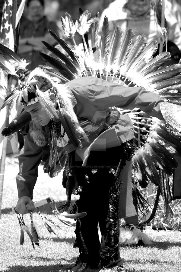 Pow Wow 07 BW 'lead male...' by CandyPoisonApple