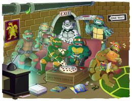Party Dudes by King-Bowser-Koopa