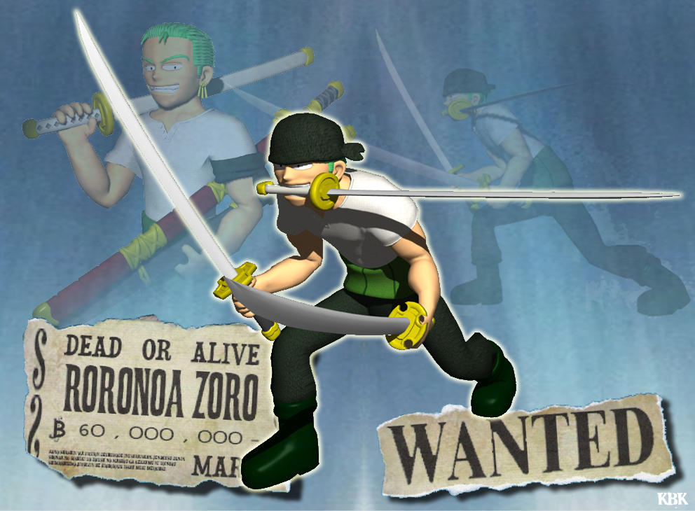 Zoro Desktop by King-Bowser-Koopa