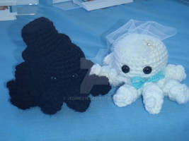 Bride and Groom Octopi