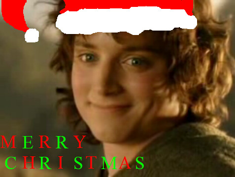 ERUMAS IN FORUMSHIRE - Page 3 Merry_Christmas__Frodo_Baggins_by_SoulAgainstSoul