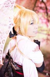 Len Kagamine - Sakura Maichirinu ~Rei~