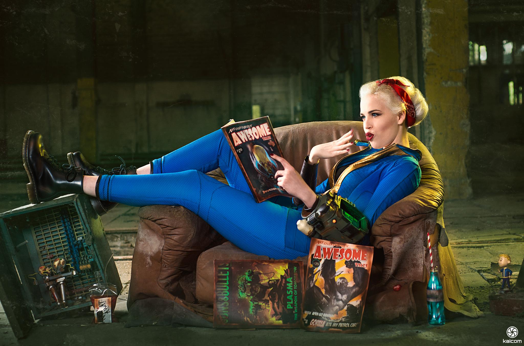 Vault Girl Fallout Wallpapers - WallpaperSafari