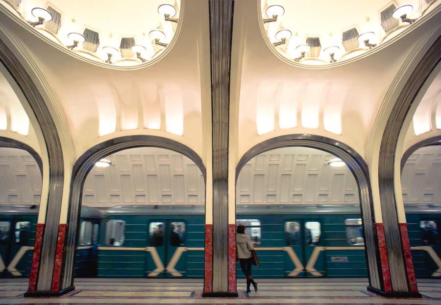 Moscow metro II by mannromann