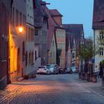 Morning in Rothenburg ob der Tauber IV