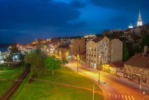 Night Belgrade by mannromann