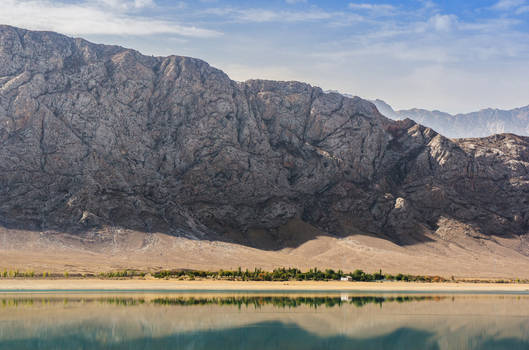 Tortkul reservoir