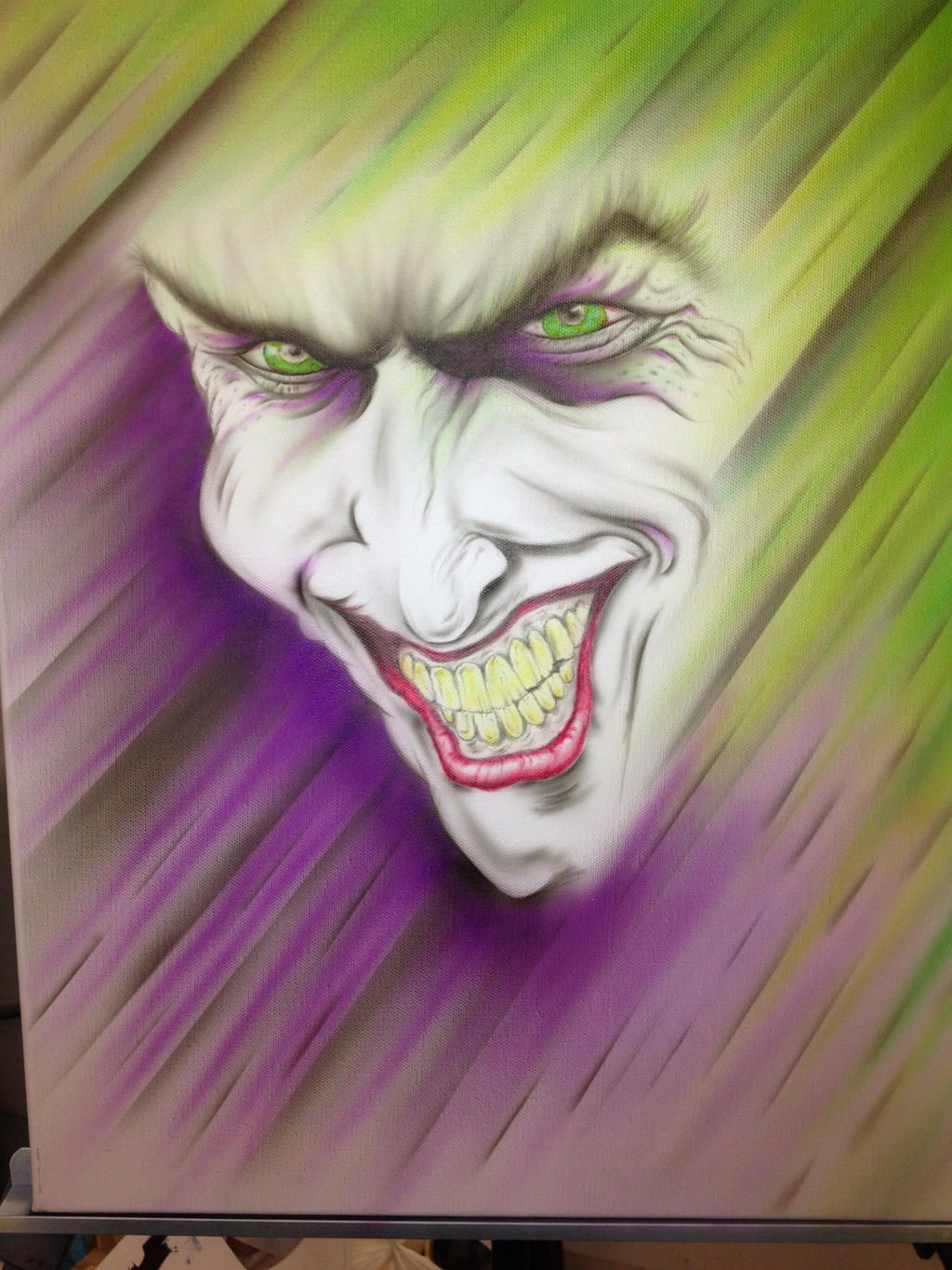 Airbrush Joker Wallpaper: Joker Airbrushed By Dekoart13 On DeviantART