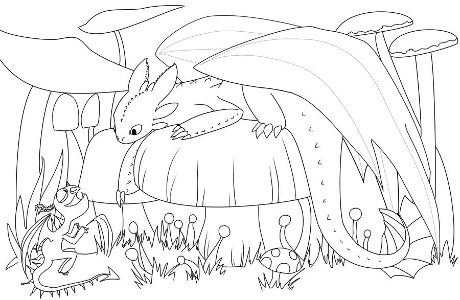 toothless coloring pages-#29
