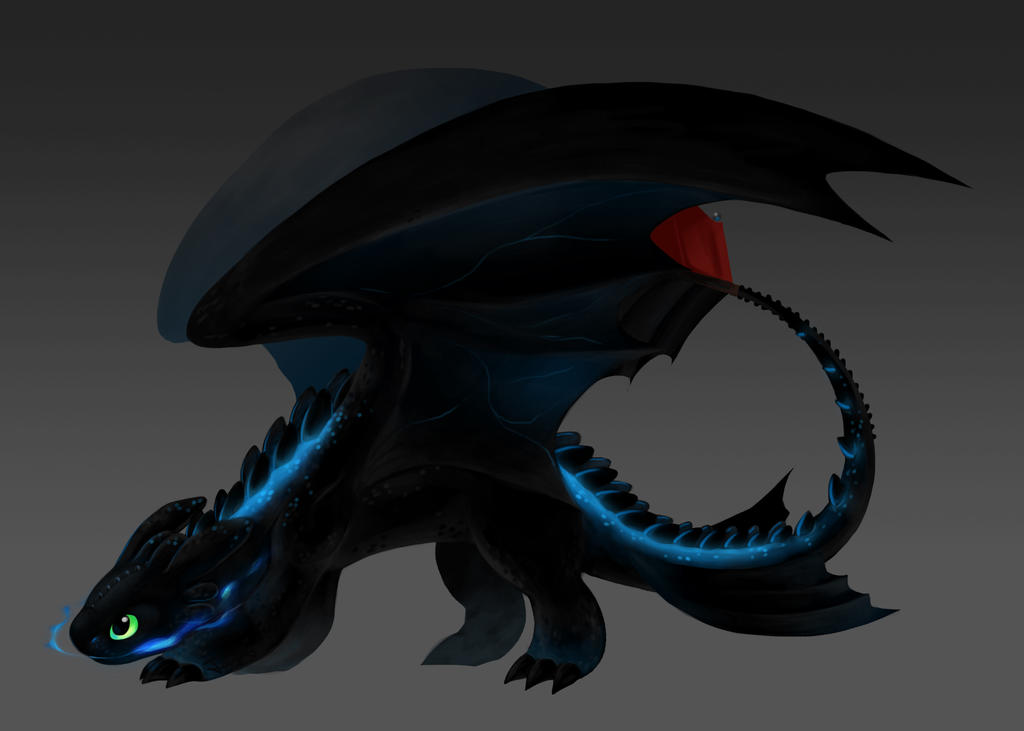 Lucia, the glowing rouge Toothless_the_alpha_by_aritimas-d7mjrsp