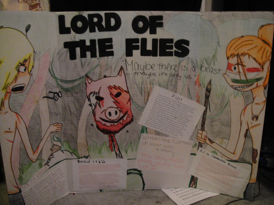 lord of the flies essay the reader is displayed