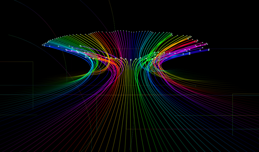 Light Optic Fiber Rainbow By Max Tux On Deviantart