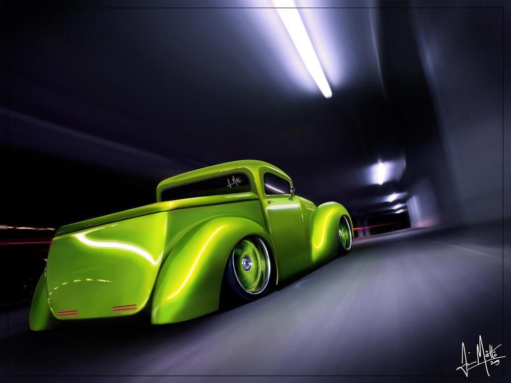 Custom Ford PickUp by ~Maettoe