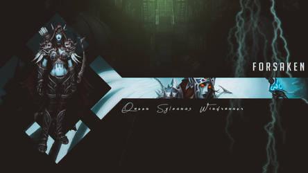 Sylvanas Windrunner (Banshee Queen) #Wallpaper#