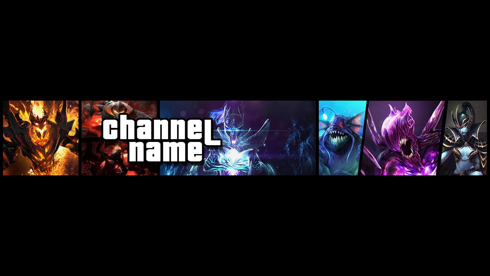 dota 2 youtube banner channel art open by neglius on deviantart