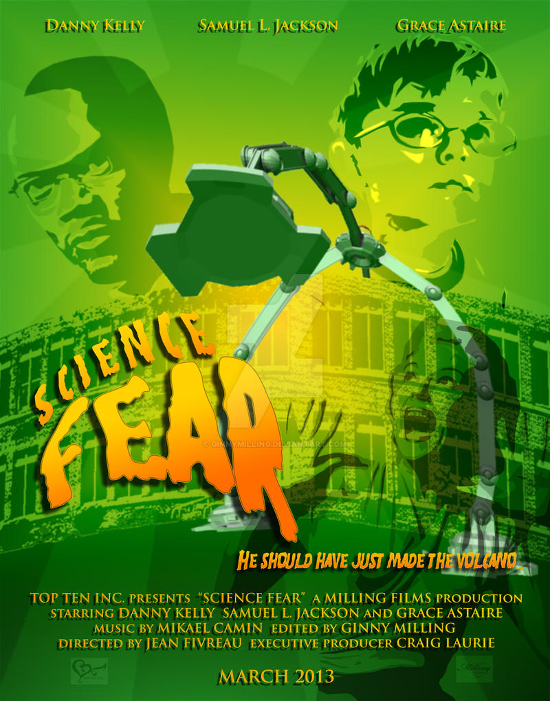 fear of science in movies and It's a dark and stormy night outside, the wind is howling rain is beginning to tap steadily at the window you decide it's the perfect setting to.