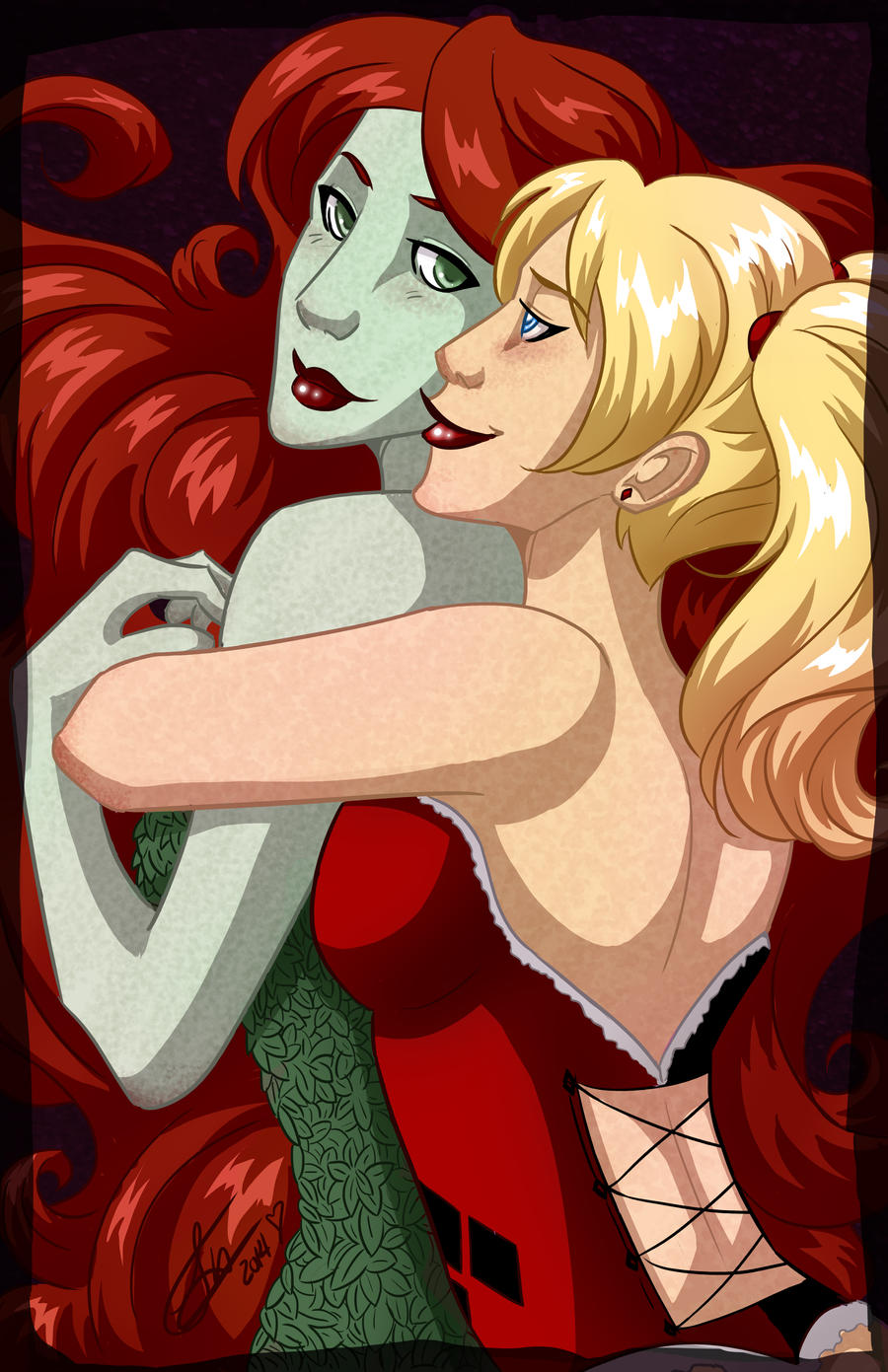 Harley and Ivy by GinnyMilling