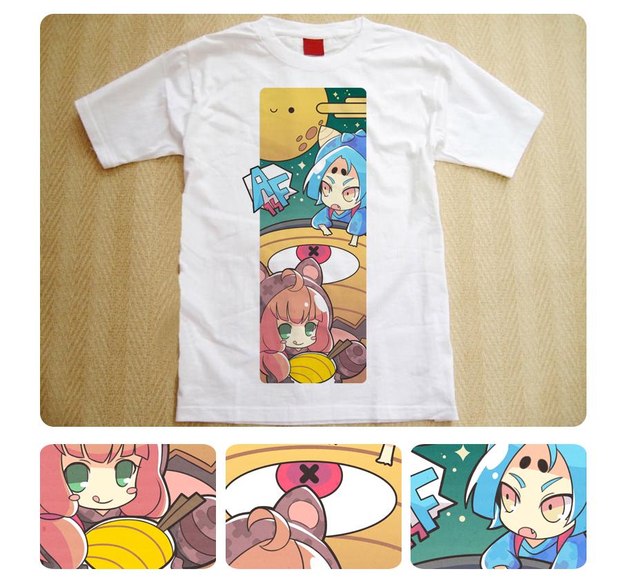 AF shirt design by hyunit