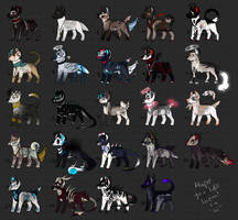 24 CANINE ADOPTS|OPEN ONLY PP! by Kaysa99