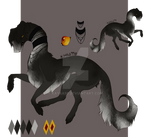 AFGHAN HOUND CREATURE|ADOPT OPEN! by Kaysa99