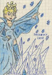 Elsa the Snow Queen by Ferchosky