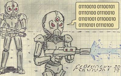 Universal Death Squad by Ferchosky
