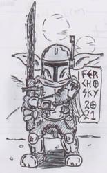 Li'l Mando Yoda