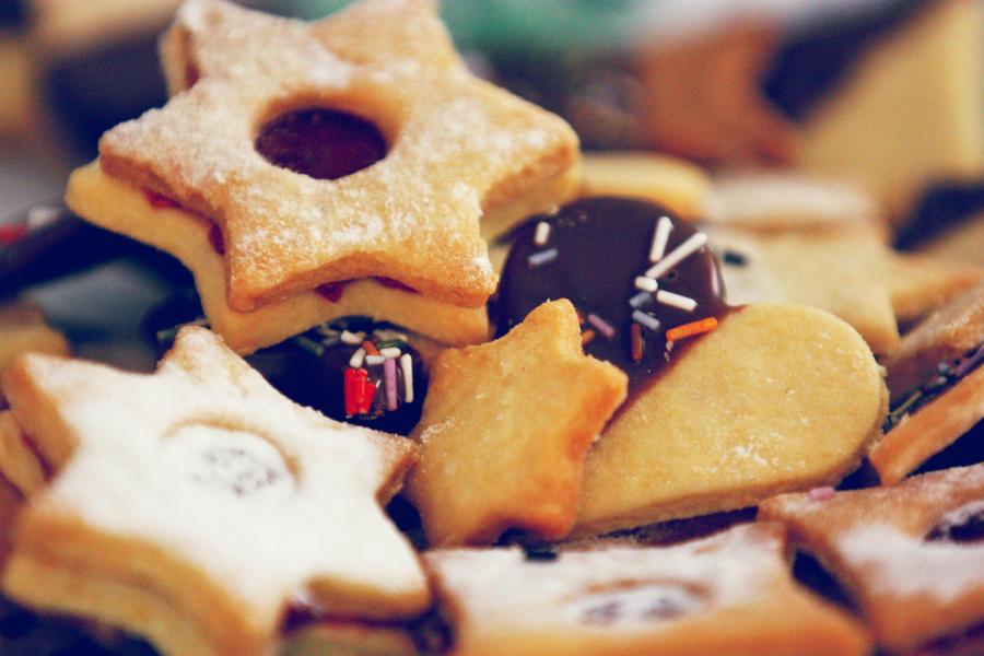 Christmas cookies by Sensenfrau