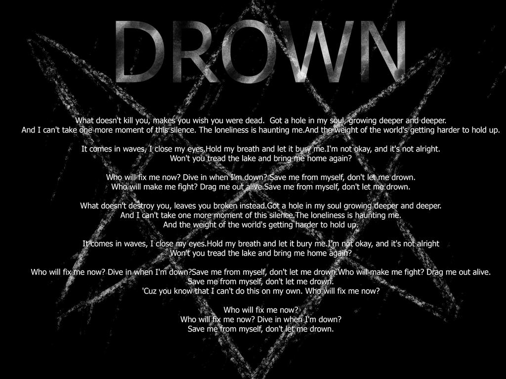BMTH - DROWN by Black4pple