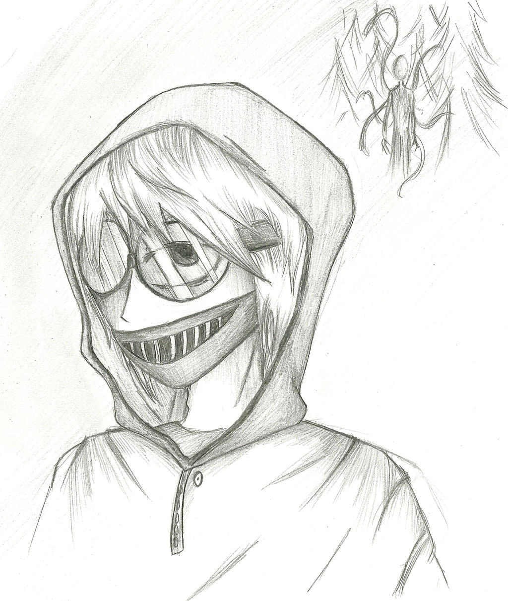 creepypasta coloring pages online - photo#21