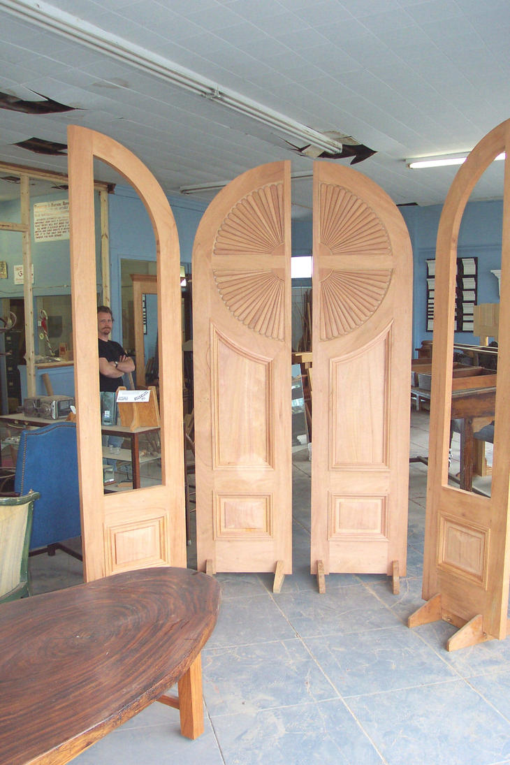 Fan Door by WaterwalkerWoodworks ... & Fan Door by WaterwalkerWoodworks on DeviantArt