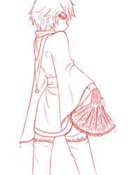 +Sasori+ lineart by Zochigo