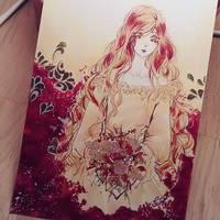 Red Bouquet by Zochigo