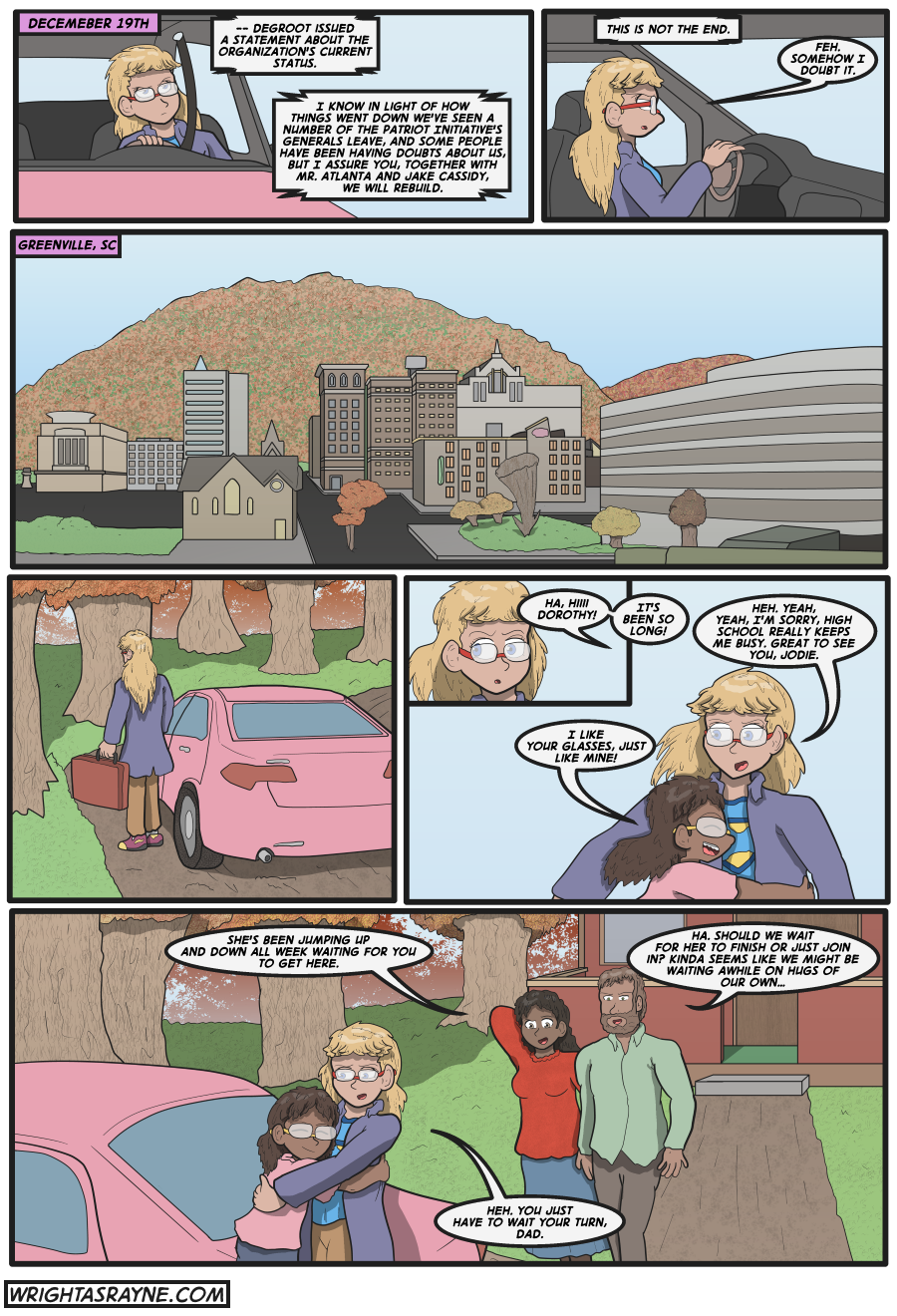 A Girl Named Dorothy, Page 1