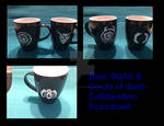 Blue Stahli and Celldweller Cups by RihanonAylah