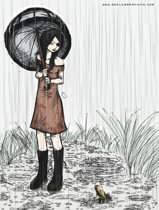 Rain by godlessmachine
