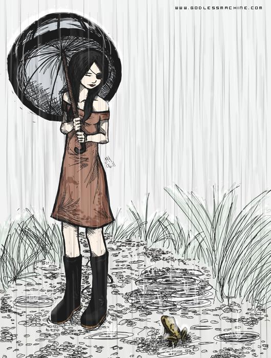 Rain by godlessmachine