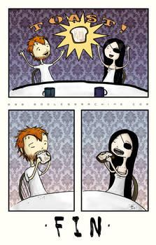 Toast Comic About Toast