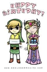 Happy Birthday by godlessmachine