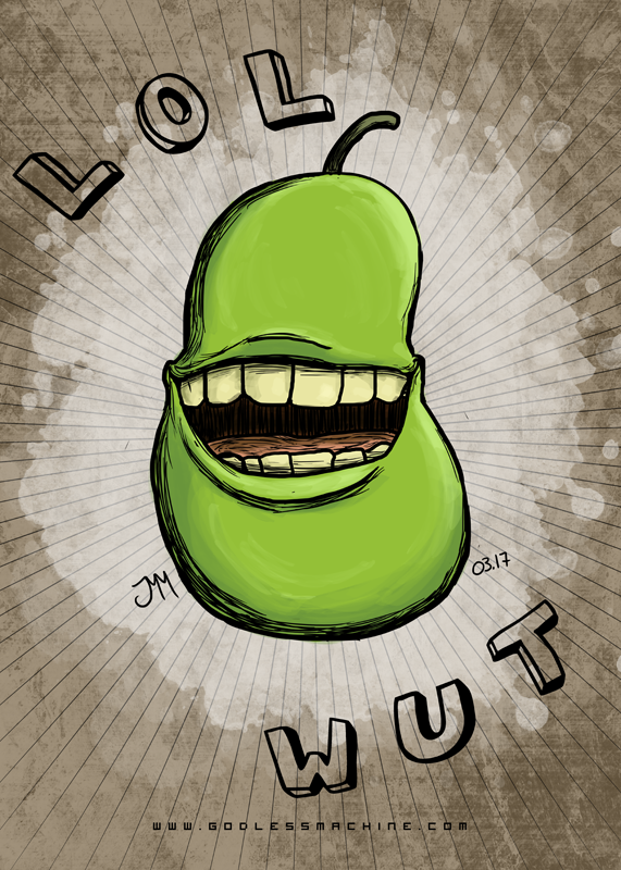 Pear by godlessmachine